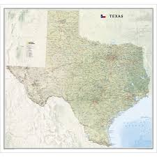 Texas Road Conditions Map Texas Wall Map National Geographic Store