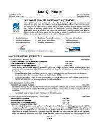 quality assurance resume quality assurance supervisor resume http jobresumesle