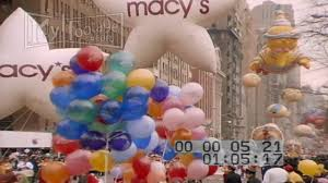 1991 macy s thanksgiving day parade pt2 stock footage hd