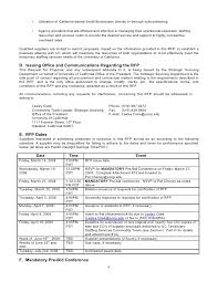 C Level Executive Assistant Resume Sample Request For Proposal