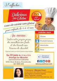 cours de cuisine sans gluten cours de cuisine sans gluten pour enfants deliciouswithout com