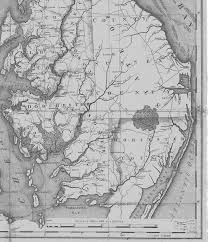 Map Of Md Md Historical County Lines