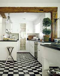 Black Amp White Modern Country by 20 Black And White Kitchen Design U0026 Decor Ideas