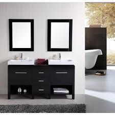 Elements Bathroom Furniture Design Element New York 60 In W X 19 In D Vanity In Espresso
