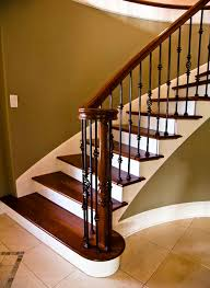 Wood Banisters And Railings Wrought Iron Stair Spindles Beautiful Custom Stairs Banisters