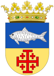Spanish Flag Fish File Coat Of Arms Of The Spanish Province Of Sidi Ifni Svg