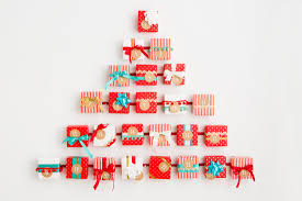 it u0027s not too late make this diy advent calendar wall tree brit co