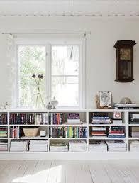 Long Low Bookshelf Pin By Kathleen Powell On Design Libraries Pinterest