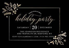 christmas party invitation holiday cards walgreens photo