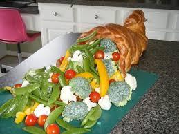 thanksgiving cornucopia edible centerpiece recipe the homestead