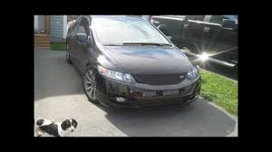 honda civic 2010 change 2010 8th honda civic front bumper removal