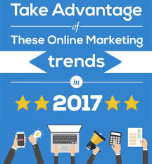 online marketing trends in 2017 infographic