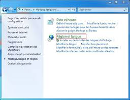horloge bureau windows 7 modifier le format 24 heurs de l horloge de windows 7