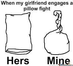 Pillow Fight Meme - pillow fight by paracetamol meme center