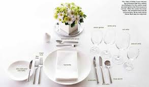 How To Set Silverware On Table 100 Proper Table Setting Silverware Best 25 Table Setting