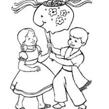 mexican coloring pages mexican boy coloring page kids drawing and coloring pages marisa