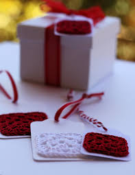 quick crochet gift tags a spoonful of sugar