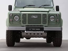 land rover defender off road modifications land rover defender sump guard by front runner front runner