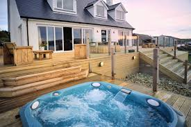 West Wales Holiday Cottages by Brynteifi Large Pet Friendly Luxury Cottage With Tub And Sea