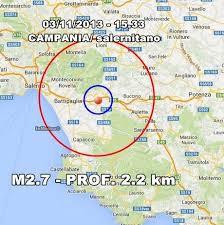 meteo lavello diretta terremoto cania oggi scossa avvertita in provincia di salerno