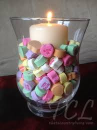 10 quick and easy valentine u0027s day candle centerpieces