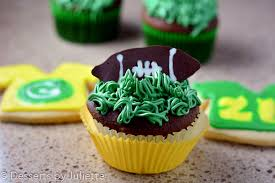 football cupcakes football cupcakes desserts by juliette