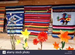 blankets and lawn ornaments taos new mexico nm display publicize