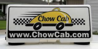 chow cab u2013 restaurant delivery service review vero vine