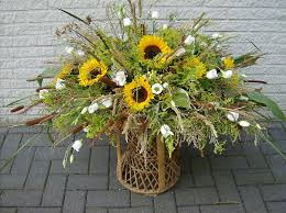 sunflower arrangements sunflower arrangement by crashendburn on deviantart
