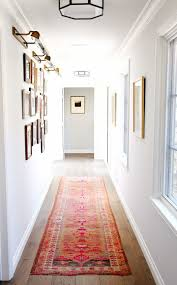 hallways decoration washable carpet runners striped hallway runner