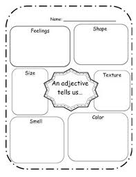 adjective worksheets grade 1 adjective worksheet by adventures in 3rd grade and middle school