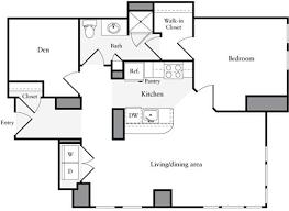 1 Bedroom Plus Den Meaning 660 Washington Apartments Near Boston Common 660 Washington