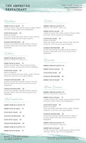 100 free bar menu template free printable template restaurant