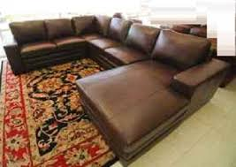 Leather Sectional Sofa Chaise Large Leather Sectional Sofas With Chaise Centerfieldbar Com
