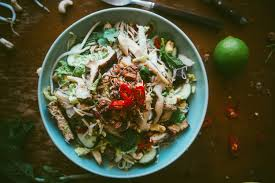 asian mushroom noodle salad souvlaki for the soul