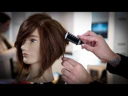 wavy lob haircut tutorial how to cut a stacked bob haircut tutorial stacked bob with a