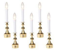 bethlehem lights window candles set of 4 battery operated window candles by bethlehem lights