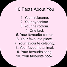 what beebee did free for all friday 10 facts about me