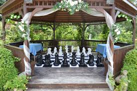 wedding players garden games chess theweddingplayers com