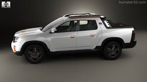 renault duster oroch 360 view of renault duster oroch concept 2015 3d model hum3d store