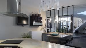 verriere de cuisine verrière cuisine cloisonner une cuisine avec une verrière d