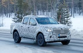 mercedes jeep truck mercedes pickup truck looks production ready in latest spy photos