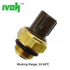 exhaust fan temperature switch aftermarket radiator coolant fan temperature sensor switch for honda