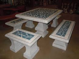 tile patio table set patio tile table tile top patio table exles of mosaic coffee tables