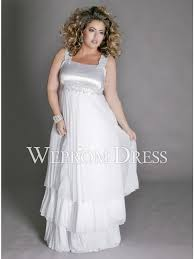 size lace white empire square a line styles plus size wedding