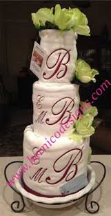 towel cakes towel cake bridal party wedding house warming