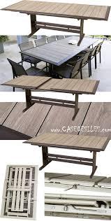 table jardin pliante pas cher jardin alu design extensible pliante 969 pas cher