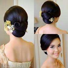 model sanggul rambut pendek 50 model sanggul pengantin modern simple untuk wisuda pengantin