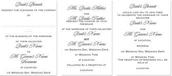 wedding invitation wording in wedding invitation wording what to write templates exles