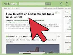 Minecraft Wiki Enchanting Table How To Make A Bookshelf In Minecraft 9 Steps With Pictures